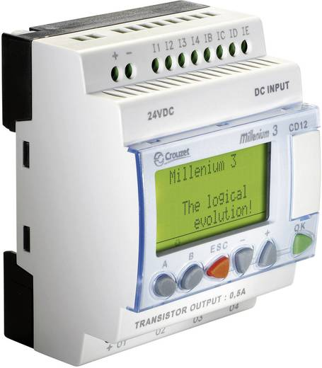 SPS-Steuerungsmodul Crouzet Millenium 3 CD12 88970041 24 V/DC