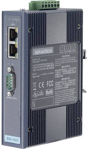 Schnittstellen-Wandler RS-232, RS-422, RS-485 Advantech EKI-1521-AE Anzahl Ausgänge: 1 x 12 V/DC, 24 V/DC