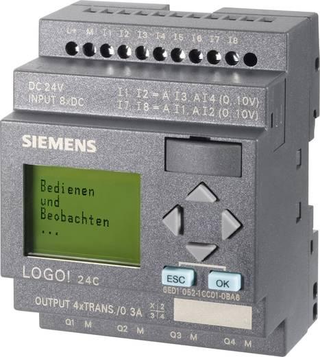 SPS-Steuerungsmodul Siemens LOGO! 0BA6 24C 6ED1052-1CC01-0BA6 24 V/DC