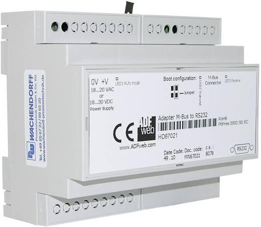 Pegelwandler M-Bus, RS-232, Ethernet Wachendorff HD67030 24 V/DC