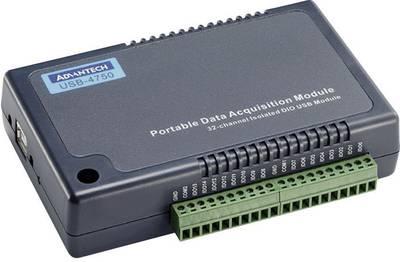 Modulo I/O DI/O, USB Advantech USB-4750-AE Numero I/O: 32