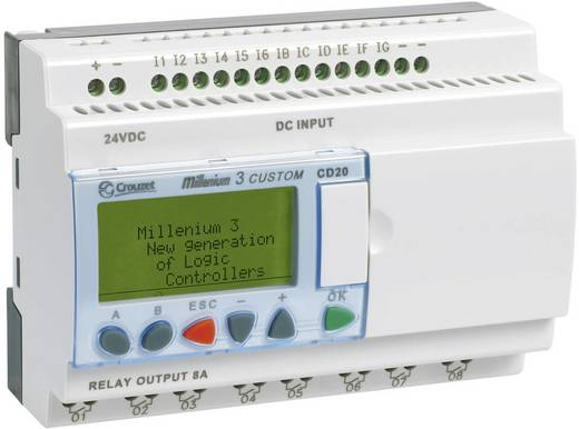 SPS-Steuerungsmodul Crouzet Millenium 3 CD20 S 88970052 24 V/DC