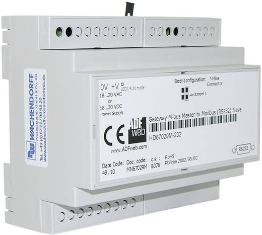 Gateway M-Bus, RS-232, RS-485 Wachendorff HD67029M485 24 V/DC