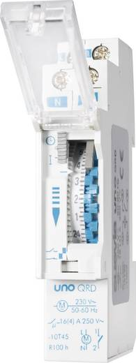 Hutschienen-Zeitschaltuhr analog Suevia UNO QRD 230 V/AC 16 A/250 V