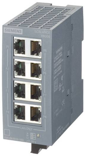 Industrieswitch unmanaged Siemens SCALANCE XB008G Anzahl Ethernet Ports 8 LAN-Übertragungsrate 10 / 100 / 1000 MBit/s B