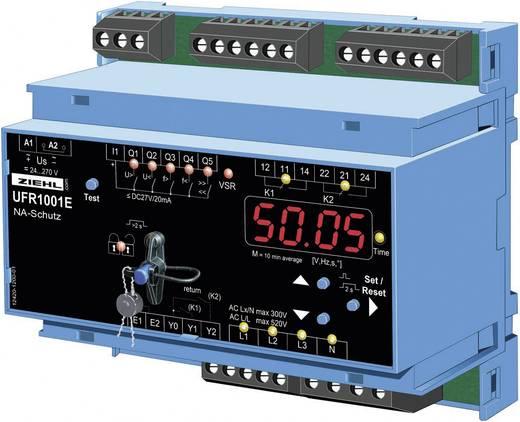Spannungs- und Frequenzrelais Ziehl UFR1001E Anzahl Relais-Ausgänge: 2 Anzahl analoge Eingänge: 1
