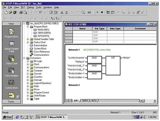SPS-Software Siemens STEP 7-Micro/WIN V4 Upgrade 6ES7810-2CC03-0YX3