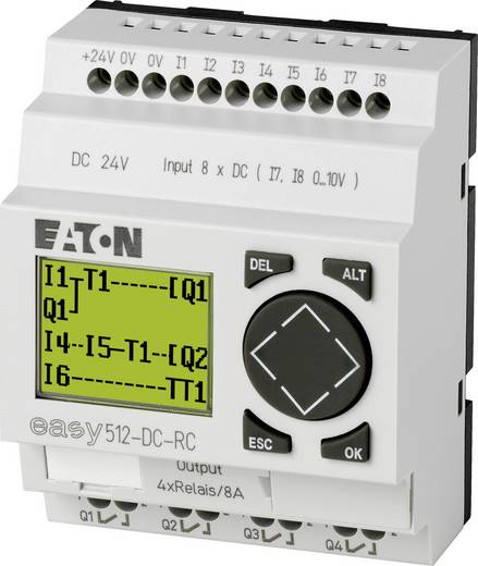 SPS-Steuerungsmodul Eaton EASY512-DC-RC 274109 24 V/DC