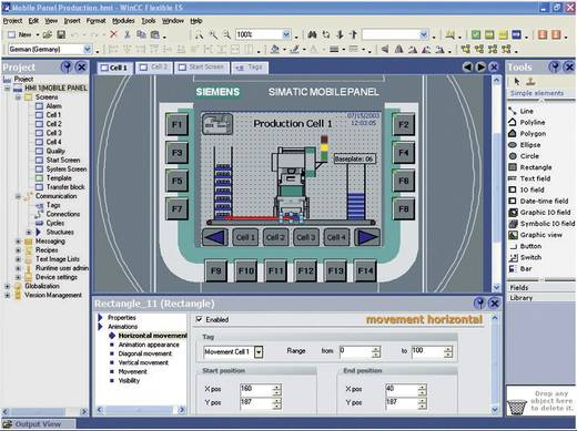 SPS-Software Siemens 6AV6610-0AA01-3CA8 6AV6610-0AA01-3CA8