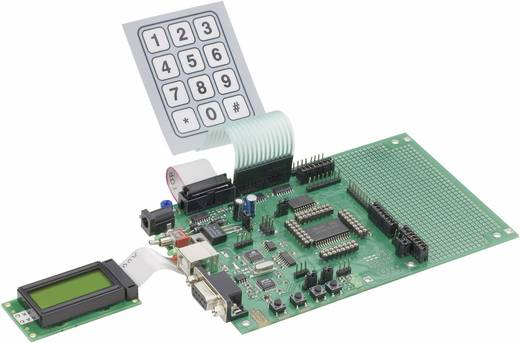 Evaluationsboard C-Control Pro Mega 128 Evaluation Board