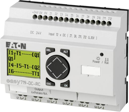 SPS-Steuerungsmodul Eaton EASY719-DC-RC 274119 24 V/DC
