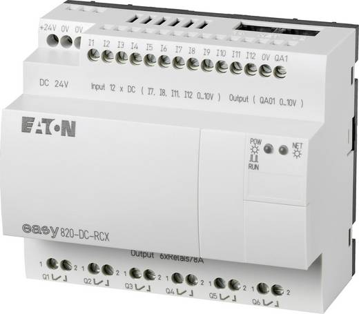SPS-Steuerungsmodul Eaton easy 820-DC-RCX 256272 24 V/DC