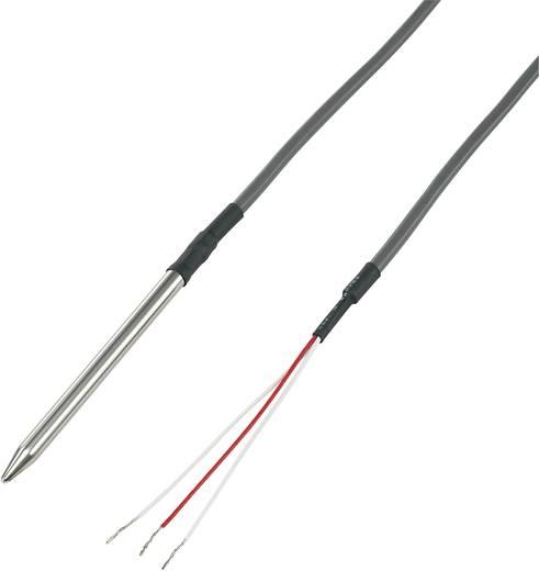 Temperatursensor Fühler-Typ Pt100 Messbereich Temperatur-100 bis 200 °C Kabellänge (Details) 3 m Fühlerbreite 6 mm