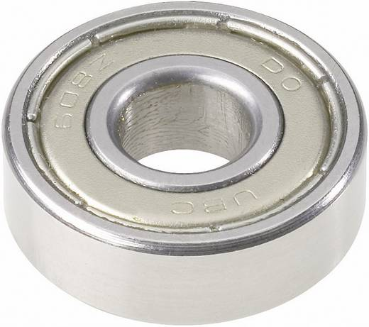 Rillenkugellager Serie 600 UBC Bearing 607 2Z Bohrungs-Ø 7 mm Außen-Durchmesser 19 mm Drehzahl (max.) 32000 U/min