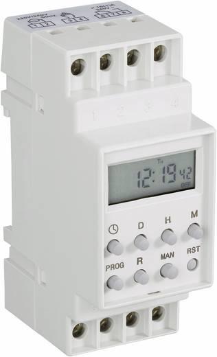 Hutschienen-Zeitschaltuhr digital 230 V/AC 16 A/250 V