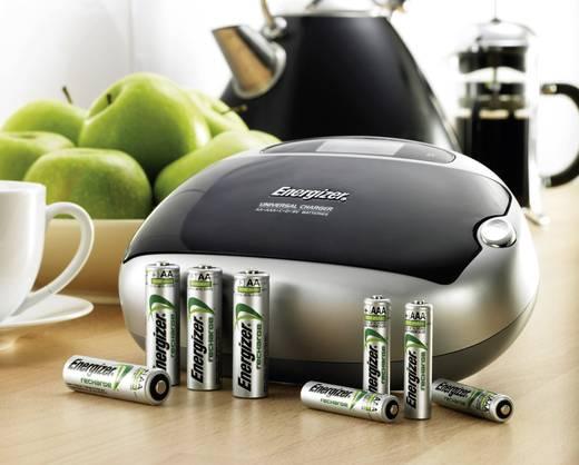 Rundzellen-Ladegerät NiMH Energizer Universal Charger CHEUF Micro (AAA), Mignon (AA), Baby (C), Mono (D), 9 V Block