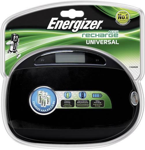 Rundzellen-Ladegerät NiMH Energizer Chargeur universel CHEUF Micro (AAA), Mignon (AA), Baby (C), Mono (D), 9 V Block