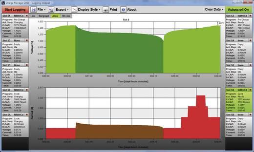 Rundzellen-Ladegerät NiCd, NiMH, NiZn VOLTCRAFT Charge Manager CM2024 Micro (AAA), Mignon (AA), Baby (C), Mono (D), 9 V