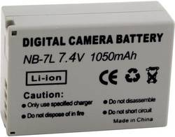 Náhradní baterie pro kamery Conrad Energy NB-7L, 7,4 V, 700 mAh