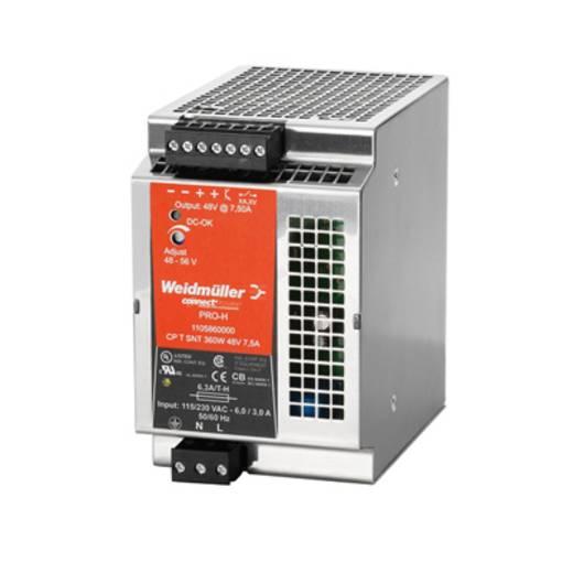 Hutschienen-Netzteil (DIN-Rail) Weidmüller CP T SNT 360W 48V 7,5A 56 V/DC 7.5 A 360 W 1 x