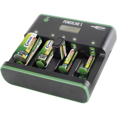 Rundzellen-Ladegerät NiCd, NiMH Ansmann Powerline 5 Zero-Watt Micro (AAA), Mignon (AA), Ba Preisvergleich