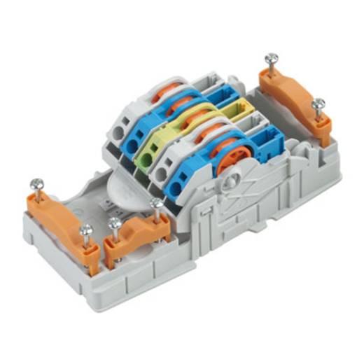 Verteiler-Box flexibel: 6-0.5 mm² starr: 6-0.5 mm² Weidmüller 1126840000 1 St. Grau