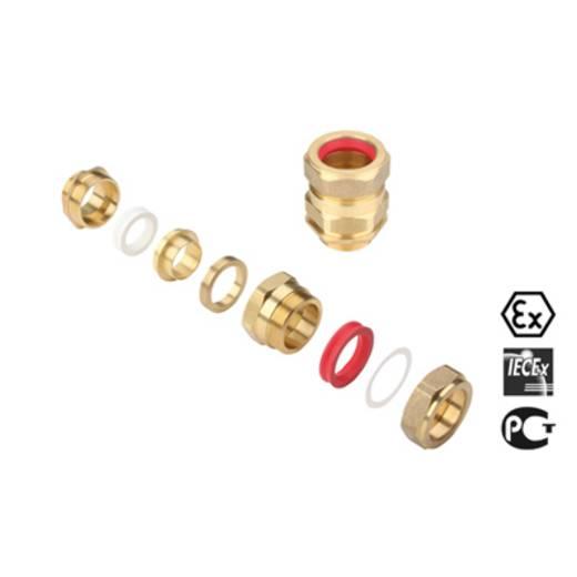 Kabelverschraubung M20 Messing Messing Weidmüller KDSX M20 BS O SC 1 G16 20 St.