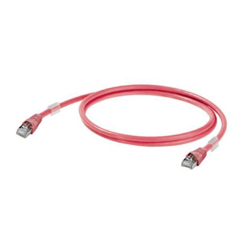 Weidmüller RJ45 Netzwerk Anschlusskabel CAT 6a S/FTP 1 m Rot UL-zertifiziert