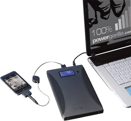 Powerbank (Zusatzakku) Power Traveller Powergorilla LiPo 21000 mAh