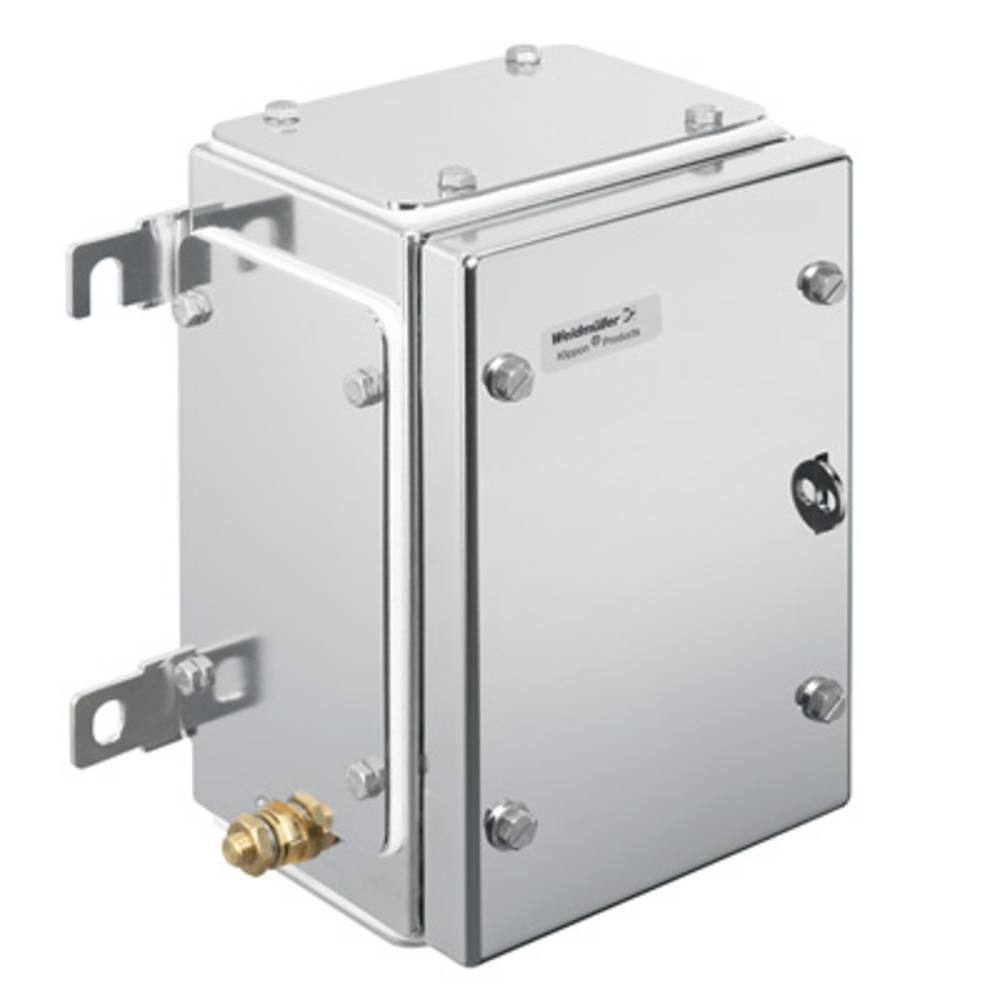 Weidmüller KTB MH 221513 S4E4 Hölje installation 152 x 229 x 133 Rostfritt stål Silver 1 st
