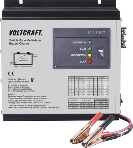 VOLTCRAFT Bleiakku-Ladegerät BC-012-30AT 12 V Blei-Calcium, Blei-Gel, Blei-Säure, Blei-Vlies