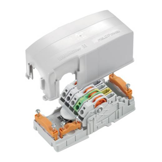 Verteiler-Box flexibel: 0.5-6 mm² starr: 0.5-6 mm² Weidmüller FP TERMINAL LG MPB 1 St. Grau