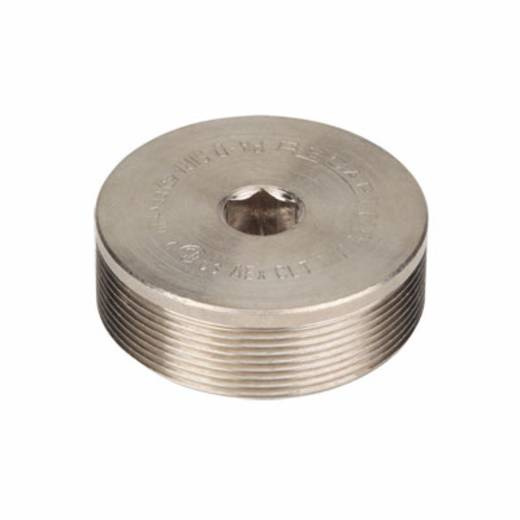 Verschlussschraube M20 Polyamid Licht-Grau (RAL 7035) Weidmüller VP M20 K54 100 St.