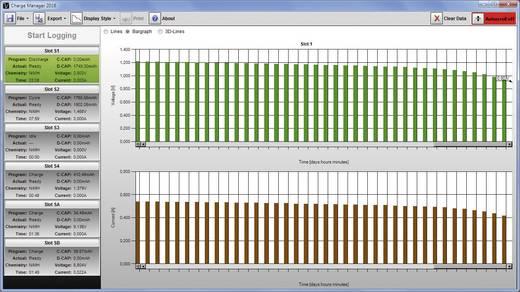 Rundzellen-Ladegerät NiCd, NiMH, NiZn inkl. Akkus VOLTCRAFT Charge Manager CM2016 +Endurance Akkus + Powerbank PB17 Micro (AAA), Mignon (AA), Baby (C), Mono (D), 9 V Block