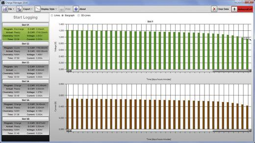 Rundzellen-Ladegerät NiCd, NiMH, NiZn VOLTCRAFT Charge Manager CM2016 Micro (AAA), Mignon (AA), Baby (C), Mono (D), 9 V