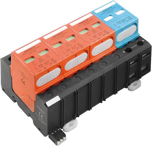 Überspannungsschutz-Ableiter Überspannungsschutz für: Verteilerschrank Weidmüller VPU I 3+1R LCF 280V/25kA 1351770000 25 kA