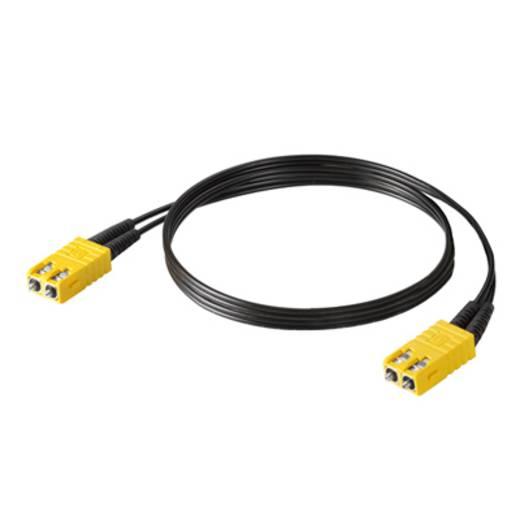 Weidmüller Polymeric Optical Fiber LWL Anschlusskabel [1x SC-RJ Stecker - 1x SC-RJ Stecker] 62,5/125 µ Multimode OM1 3 m