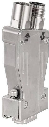 Sensor-/Aktor-Verteiler und Adapter M12 Stecker, gerade, Buchse, gerade Weidmüller 1274250000 PB-DP SUB-D M12 180 OS 1