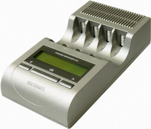 Rundzellen-Ladegerät NiCd, NiMH, NiZn VOLTCRAFT Charge Manager CM410 Micro (AAA), Mignon (AA)