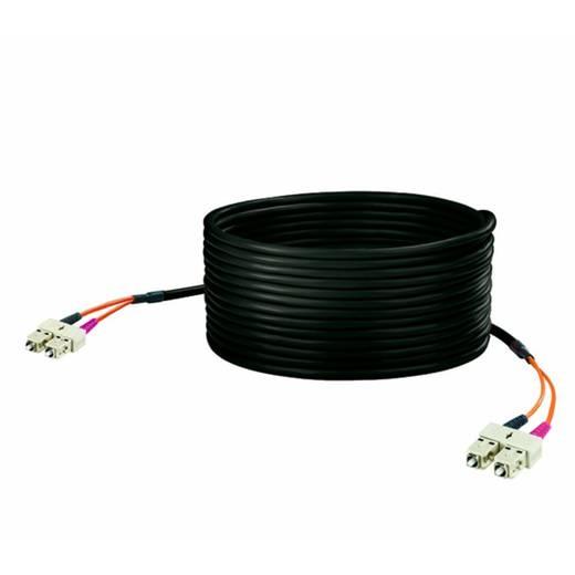 Glasfaser LWL Anschlusskabel [1x SC-Stecker - 1x SC-Stecker] 50/125µ Multimode OM2 100 m Weidmüller