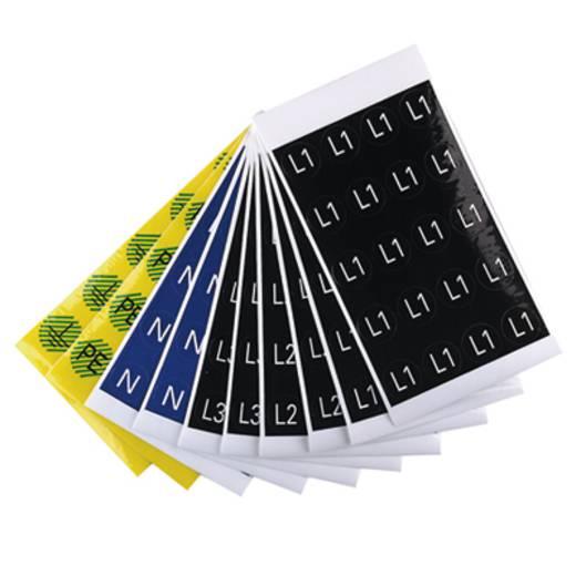 Kabelmarkier-Etikett SERV-P. DIAM16 N BL/WS 1707350004 Atoll-Blau Weidmüller 1 St.