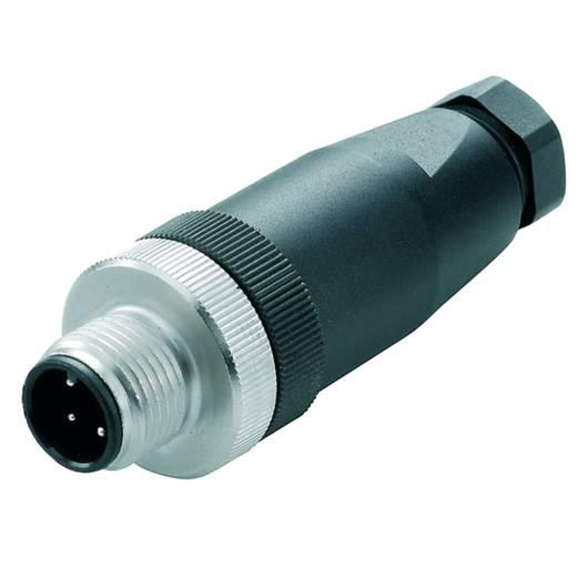 Sensor-/Aktor-Steckverbinder, unkonfektioniert M12 Stecker, gerade Polzahl: 8 Weidmüller 1836970000 SAIS-8/9 1 St.