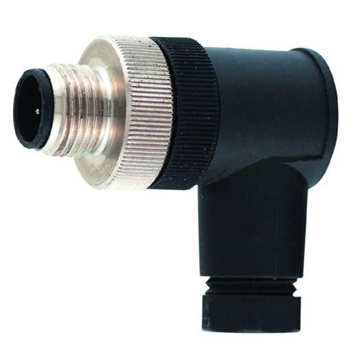 Sensor-/Aktor-Steckverbinder, unkonfektioniert M12 Stecker, gewinkelt Polzahl: 4 Weidmüller 1807360000 SAISW-4/9 1 St.
