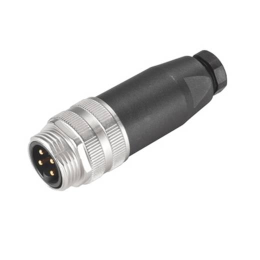 """Sensor-/Aktor-Steckverbinder, unkonfektioniert 7/8"""" Stecker, gerade Polzahl: 4 Weidmüller 1808840000 SAIS-4/9-7/8"""" 1 St"""