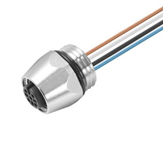Sensor-/Aktor-Einbausteckverbinder M12 Buchse, Einbau Polzahl: 5 Weidmüller 1814890000 SAIE-M12B-5-0.5U-PG9 1 St.