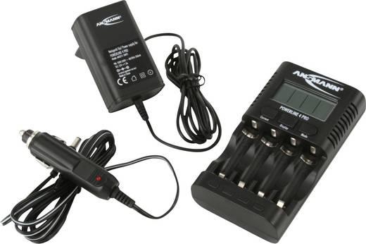 Rundzellen-Ladegerät NiCd, NiMH Ansmann Powerline 4 Pro Micro (AAA), Mignon (AA)