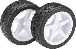 Roues complètes Street wild rue pour Buggy Absima 2500007 5 rayons blanc 1:10 2 pc(s)