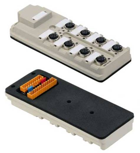 Sensor-/Aktorbox SAI-8-B 5P M12 SL Grau Weidmüller Inhalt: 1 St.
