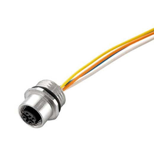 Sensor-/Aktor-Einbausteckverbinder M12 Stecker, Einbau Polzahl: 4 Weidmüller 1861220000 SAIE-M12S-4-0.5U-PG9 1 St.