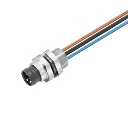 Sensor-/Aktor-Einbausteckverbinder M8 Stecker, Einbau Polzahl: 3 Weidmüller 1861280000 SAIE-M8R-3-0.5U-FP-M8 1 St.